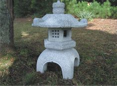 Granite stone lanterns for Japanese gardens, gifts, garden lights, garden ornaments