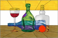 Bottles color key