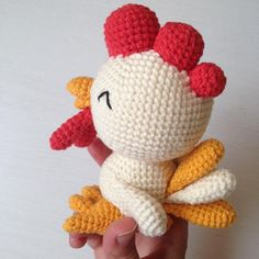 Looking for your next project? You're going to love Pattern: Small Rooster by designer hmforyou.