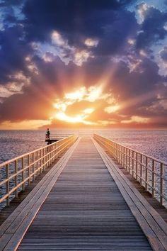 Sunrise On The Ocean ☄ #Nature