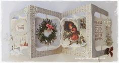 Christmas cards/mini album, with Pion Design♥