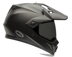 Bell MX-9 Adventure Solid Matte Black Off Road Motorcycle Helmet Size Xlarge