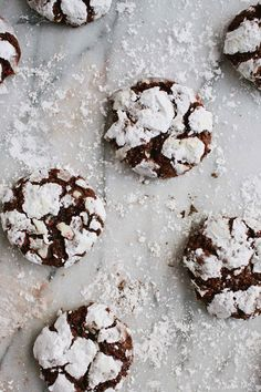 Peppermint Chocolate Crackles.