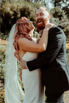 Haughley Park Barn - Bride with Pink Hair Alternative Wedding Jess Soper Photography How Beautiful, Absolutely Gorgeous, Formal Gardens, First Contact, Alternative Wedding, Our Wedding Day, Pink Hair, Bridal Hair, Brides