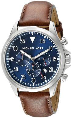 a79252e6d7b1b Michael Kors Gage Chronograph Blue Dial MK8362 Mens Watch Michael Kors  Watch