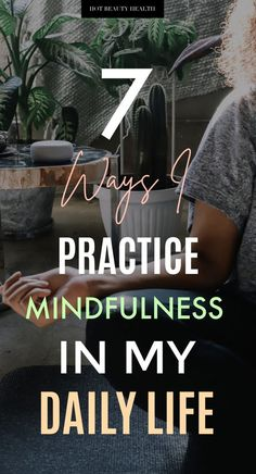 // Here are the different ways I like to practice mindfulness in my daily life. One of my favorite ways is through meditation by using the Guided Meditation skill for Alexa on my Echo Dot. Alexa is the perfect assistant to guide me throu What Is Mindfulness, Mindfulness Practice, Easy Meditation, Guided Meditation, Meditation Space, Alexa Skills, Mind Relaxation, My Daily Life, Frame Of Mind