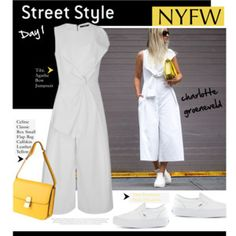 NYFW Street Style: Jumpsuits!