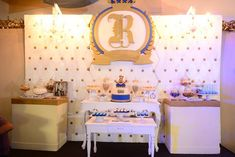 Riley's Royal Prince Themed Party – Sweets Baby Shower Themes, Baby Boy Shower, Crown Party, Prince Birthday, Party Sweets, Quinceanera Invitations, Royal Prince, 1st Birthdays, Party Themes
