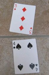 Capture That Fraction card game