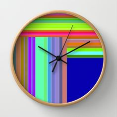 Re-Created  Parquet 8 Wall Clock by Robert S. Lee - $30.00