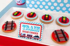 Image result for train party foods Baby Shower Cards, Baby Shower Parties, Shower Party, Welcome Baby Banner, Cupcake Wraps, Baby Banners, Train Party, Food Tent, Party Signs