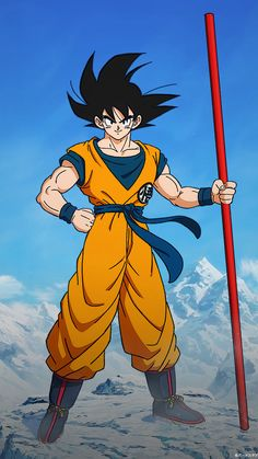 Why is Goku Pure Hearted in Dragon Ball? Well, it has a lot to do with the creator of Dragon Ball Toriyama and his up bring and knowledge of history. Goku Drawing, Ball Drawing, Dragon Ball Gt, Wallpaper Do Goku, Mobile Wallpaper, Animes Wallpapers, Manga Art, Marvel, Iphone Backgrounds