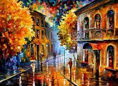 leonid afremov oil paintings11 Oil Paintings of Leonid Afremov