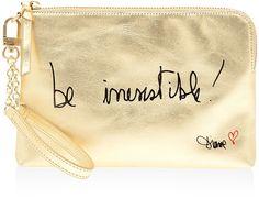 Mantra Wristlet Bag