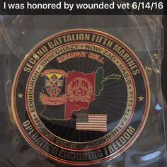 Honor given to Nancy Silliman from Joshua Lopez who served our country who lost his leg on a mind field. Our Country, Marines, Mindfulness, Lost, Awareness Ribbons