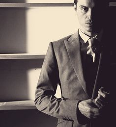 Andrew Scott.. Moriarty is now one of my favourite villains after watching this man portray him