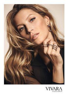 Gisele Bundchen w kampani biżuteriii Vivara zima 2016 Gisele Bundchen, Gisele Caroline Bündchen, Jewelry Ads, Cameo Jewelry, Beach Jewelry, Jewelry Packaging, Etsy Jewelry, Luxury Jewelry, Boho Jewelry