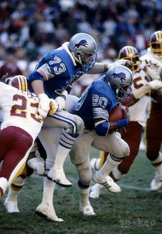 Billy Sims and Russ Bolinger (73)
