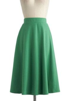 A O-SWAY SKIRT IN BEING GREEN #SisterMissionary