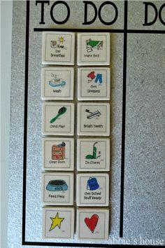 good chore chart idea