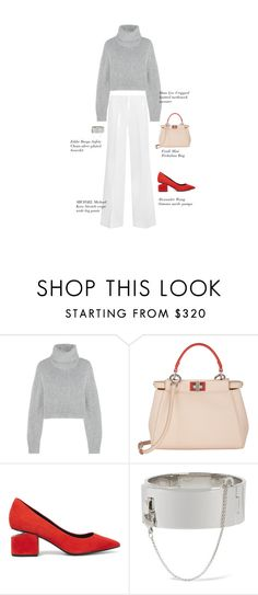 """""""Untitled #536"""" by dominikaf ❤ liked on Polyvore featuring Dion Lee, Fendi, Alexander Wang, Eddie Borgo and MICHAEL Michael Kors"""