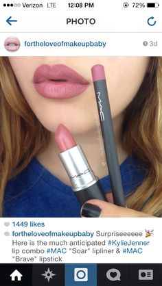 that infamous Kylie Jenner lip look