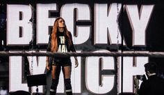 """""""To the people who slept out overnight to see me; the hundreds I got to see, and the many more I hadn't time to meet today - thank you so very much. It's time for The Man to go to work now. British Wrestling, Women's Wrestling, Rebecca Quin, Wwe Girls, Raw Women's Champion, Becky Lynch, Wwe Womens, The Hundreds, Professional Wrestling"""