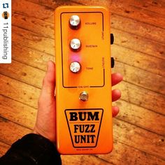 Repost @11publishing:  This one's been a long time coming. Anthony @macaris_official has been talking about this collaboration with @mredwyncollins for about 2 years. Great to see the final #bumfuzzunit jumbo #tonebender in real life. It's a great looking pedal. Props as always to #DAM #David Main for his circuit wizardry. #fuzz #ilovefuzz #11publishing #tonebenderfuzz #DAM #solasound #colorsound #effectsdatabase