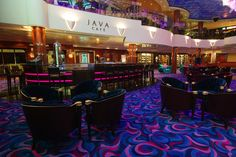 Norwegian Gem Java Café!  I LOVE to cruise like a Norwegian !!!