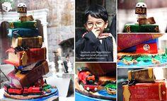 Epic Harry Potter birthday cake