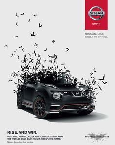 Juke Nismo, Built To Thrill - CGI & Retouching by CircleMedia, via Behance