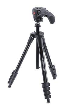 Amazon.co.jp: Manfrotto 三脚 COMPACT Action フォト・ムービーキット アルミ 5段 ブラック MKCOMPACTACN-BK: 家電・カメラ
