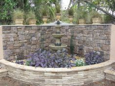 fountain ideas diy | ... Wall Project! - Yard Designs - Decorating Ideas - HGTV Rate My Space