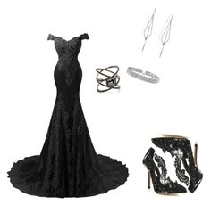 """Untitled #3"" by dialove93 on Polyvore featuring Oscar de la Renta, Diane Kordas, Bling Jewelry and Eva Fehren"