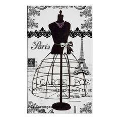 Do you like vintage dress form mannequins? I have a few vintage dress form rubber stamps. I love stampi. Vintage Paris, Vintage Mode, Vintage Style, Fashion Mannequin, Dress Form Mannequin, Couture Vintage, Vintage Fashion, Manequin, Vintage Wedding Gifts