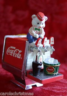 *COCA-COLA ~ Make Mine A Coke 1995 Bear Coca