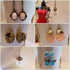 Etsy.com/shop/melstore Picture Frames, Drop Earrings, Pictures, Etsy, Shopping, Jewelry, Fashion, Portrait Frames, Photos