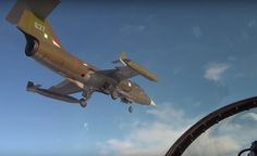 The Aviationist » Check out these stunning videos of the iconic F-104 Starfighter flying for the first time in 33 years in Norway