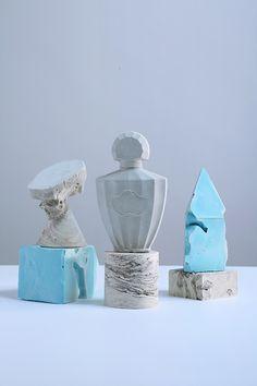 cinqfruits:  Guerlain / Various material / sculpture by us / Mai 2013 / shot under the rain in Paris at l'Atelier Carré