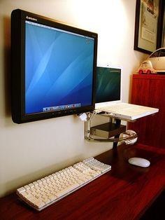 Flickr Finds: Clean Wall Mounted Apple Rig