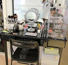 Need a makeup station