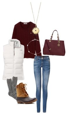 """""""Untitled #41"""" by emma-martin123 on Polyvore featuring Lacoste, The North Face, J.Crew, Sperry Top-Sider, Michael Kors and Tiffany & Co."""
