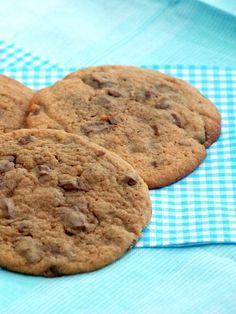 Kæmpe cookies med mælkechokolade fra Bageglad.dk