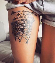 Tattoo Oberschenkel Mehr