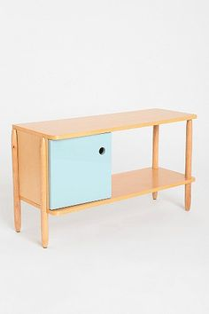 Henry Media Console for behind the couch