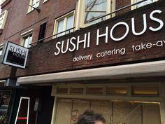 acrylaat freesletters op afstandshouders Sushi At Home, Broadway Shows, Studio, Studios