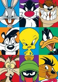 """looney tunes picture frames /""""STWIKE A POSE/"""""""