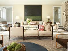 David Scott Interiors, LTD. - Locust Valley Estate Living Room