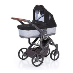 ABC DESIGN Kinderwagen Mamba plus graphite grey-black, frame cloud / zittinggraphite grey pinkorblue.nl ♥ Ruim 40.000 producten online ♥ Nu eenvoudig online shoppen!