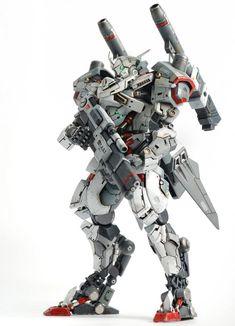 HG 1/144 Hyakuren Azee Custom by Asrul Hazimin